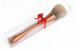 Buena calidad MEZCLAR colorido Cintura pequeña Mujeres Maquillaje Pincel en polvo base Cara Belleza Maquillaje Pinceles Escala de pescado Herramienta desde fabricantes