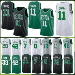 4475fed7d Boston 0 Jayson 11 Kyrie Tatum Irving jerseyss 20 Gordon 7 Jaylen Hayward  Brown 42 Horford 12 Terry III 33 Larry Rozier Bird Smart