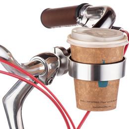 trinken klammerschalenhalter Rabatt Fahrrad Getränkehalter Motorrad Fahrrad Lenker Halterung Kaffee Trinken Wasser Flaschenhalter Clip Aluminium Radfahren Griff Bar Rack # 81021