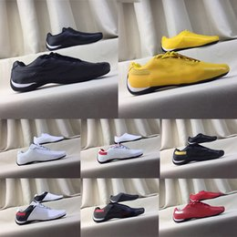 locomotive shoes Coupons - 2019 Hot Sell Errari Locomotive Shoes Men Women Future Cat Leather SF Casual Shoes Brand Comfortable Leather Shoes Size 37-45