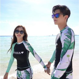 full body swimsuit women Coupons - Brand MEIYIER couple matching swimsuit korean fashion swim surfing upf 50 clothing full body men and women rashguard plus size