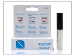 Make-up machen online-3style Wimpernkleber frieren Wimpernkleber nicht ein Doppelte Augenlider Kleber zum Aufbürsten Vitamine Weiß Klar Schwarz 5g Makeup Tool Epcket