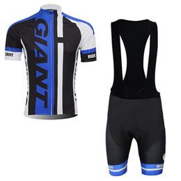 GIANT Ciclismo Jersey Top in Bicicletta Estate Ciclismo Abbigliamento Ropa Ciclismo Manica Corta Mtb Bike Camicie Maillot Ciclismo pantaloncini set0258 da