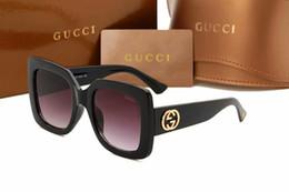 Popular Occhiali da sole fashion Donna Mee Designer 0083 Square Summer Style Full Frame Protezione UV di alta qualità Colore misto Come With Box q1 da occhiali da sole hilton fornitori