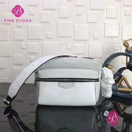 Bolso de hombro genuino de los hombres online-Rosa Sugao las mujeres y los hombres de bolso mensaje de bolsos de diseño del hombro bolso crossbody de cuero genuino bolso de alta calidad de 5 colores eligen