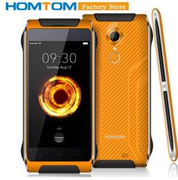 Celular 4,7 polegadas on-line-HOMTOM HT20 Pro 4G Smartphone 4.7 polegada Android 6.0 MTK6753 Octa Núcleo 1.3 GHz 3 GB RAM 32 GB ROM de Impressão Digital 13.0MP Câmera Celular