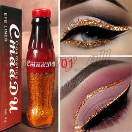 Cmaadu Nouvel eye-liner liquide pailleté 12 couleurs pour les yeux maquillage bouteille de gel imperméable et facile à porter brillant Eye Pigment Korean Cosmetics ? partir de fabricateur