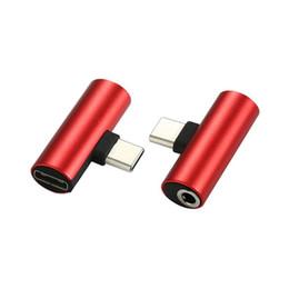 Adaptateur Type C De Recharge Audio Double Adaptateur 3.5mm Jack AUX Splitter Chargeur Ecouteur Câble Connecteur Convertisseur Pour Huawei Xiaomi ? partir de fabricateur