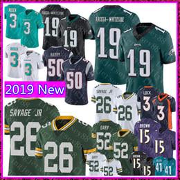 0e377addf8c 19 JJ Arcega-Whiteside Philadelphia Eagles Jersey 26 Darnell Savage Jr 52  Gary Green Bay Packers Football Jerseys 50 N'Keal Harry supplier eagles  jerseys