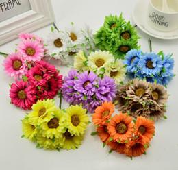 6pcs main gerbera mode maison jardin mariée diy guirlande matériel banquet de mariage décoration fleur artificielle ciseaux couronne ? partir de fabricateur