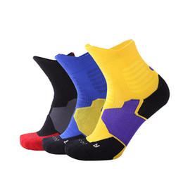 meias para caminhadas no verão Desconto Alta Qualidade Grosso Novos Homens Esportes Ao Ar Livre Meias De Basquete Homens Ciclismo Meias Meias De Compressão de Algodão Toalha de Fundo de homens de amor