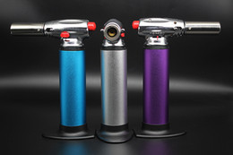 3 color option 1300C Brazing Soldering Adjustable Butane Gas Jet Cigarette Welding Torch Lighter kitchen torch Refillable Micro Culinary
