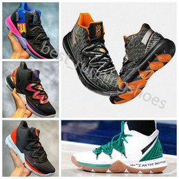 lowest price e8839 3281f 2019 Kyrie5 V Kyrie Irving Five Taco Black Kyrie 5 Magic Men Basketball  Shoes 4 Mens Trainers 5s Retro Sports Basket ball Sneakers 40-46