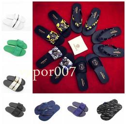 Canada Hot 2019 Designer mode Hommes Plage Slide Sandales Méduse Pantoufles Hommes femmes piscine de luxe chaussures casual chaussures Offre