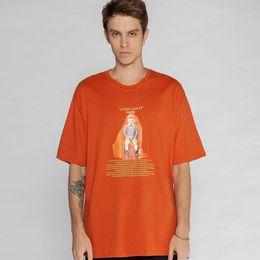 Garçons longs t-shirts en Ligne-2019 Creative Drôle Garçon Imprimé À Manches Courtes T Chemises Hommes Femmes Hip Hop Streetwear D'été Top T-shirts Mode Homme T-shirts