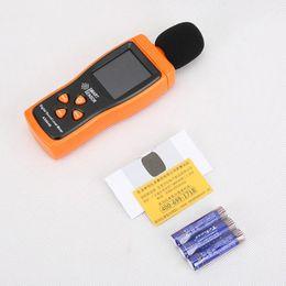 маленькие светодиодные фонари 24v Скидка Децибеллометр Измеритель уровня звука 30-130 дБ Аудио шум Измеритель звука Прибор для измерения звука Самокалиброванный Децибел Монит