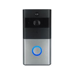 Nuovo Z-BEN Videocitofono wireless HD PIR WIFI citofono campanello 720P Telecamera IP Alimentazione batteria Slot scheda SD audio Sicurezza esterna Epacket da