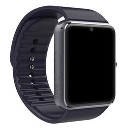 Argentina 2018 Bluetooth Smart Watch Men GT08 con pantalla táctil Cámara grande con tarjeta SIM para iPhone IOS con teléfono Android Suministro