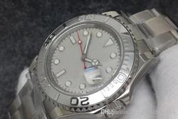 Дайвер смотреть сапфир онлайн-Двухцветный Топ NFactory Мужские Автоматические Eta3135 Часы Мужчины 40 * 13 ммКалендарь Sapphire Sport Dive Swiss Full 316L Стальные белые наручные часы
