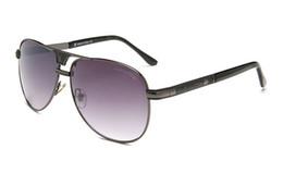 Lusso-alta qualità Classic Pilot Sunglasses Designer Brand Mens Womens Occhiali da sole Eyewear Metallo Lenti in vetro S1253 da