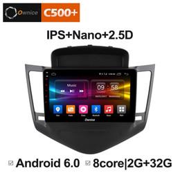 "caja dvb t2 Rebajas 9 ""2.5D Nano Pantalla IPS Android Octa Core / 4G LTE Car Media Player con GPS RDS Radio / Bluetooth para Chevrolet Cruze 2009-2014 # 4045"