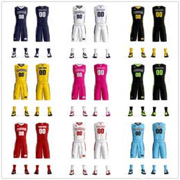 Camisetas de baloncesto juvenil barato online-Jerseys de baloncesto baratos al por mayor del equipo Chándales de las mujeres de los hombres Jersey de baloncesto uniforme personalizado establece diseño libre para uno y equipo