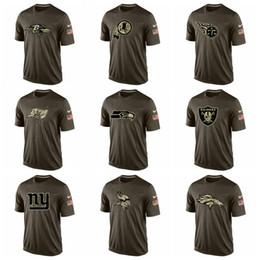 Deutschland WashingtonRedskins TennesseeTitans TampaBuchtBuccaneers SeattleSeahawks OaklandRaiders Salute To Service T-Shirt Versorgung