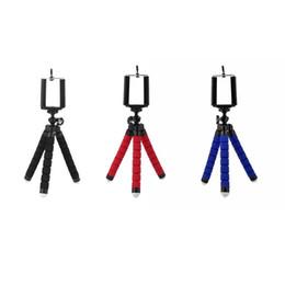 Handy-einbeinstativ online-Flexible handyhalter krake stativ halterung selfie erweiterung halterung einbeinstativ styling zubehör für handy kamera