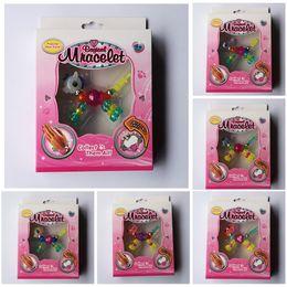 Deutschland Boxed Magic Bracelet Collectible Bracelet Set 6 Designs Unicorn Machen Sie aus einem Armband oder einem Twisty ein Haustier Bracele Gifts Toys with Retail Box Versorgung