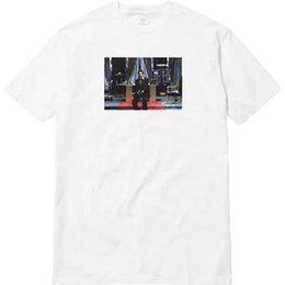 Freunde logos online-Scarface Friend Tee Box LOGO Lässige Mode Grafik Gedruckt Kurzarm T-Shirts Sommer Stil Hip Hop Tees Tops HFLSTX199