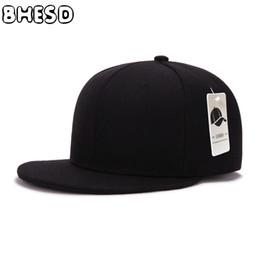простые черные бейсболки Скидка BHESD 2017 Solid Black Flat Бейсболка Мужчины Женщины Snapback Хип-хоп Hat Дети Летняя Plain Спорт Cap Casquette Gorras JY-048