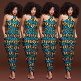 women african jumpsuit Coupons - 2019 fashion style new plus size african women jumpsuit M-XXXL