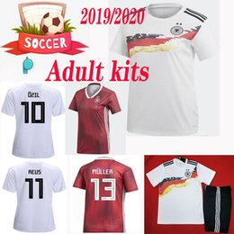 5fd0c77c5 Chinese Germany men women home away Soccer Jersey 2019 2020 world cup  Germany female soccer shirt