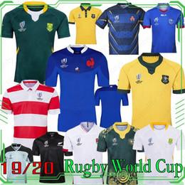 jersey de rugby ao atacado Desconto África do Sul Japão França Jerseys 19 20 New Rugby World Cup Jerseys RWC Fiji Austrália Englands Irlanda Rugby League camisetas Em da Hot