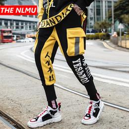 a7a9947b2f41 Color Block Patchwork Harem Pants Joggers Mens 2019 Spring Hip Hop Track  Pants Male Fashion Streetwear Trousers Sweatpant WG23