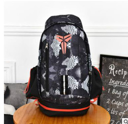 black yellow sports backpack Coupons - 2 Fashion KOBE Men Backpacks Basketball Bag Sport Backpack School Bag For Teenager Outdoor Backpack Marque Mochila