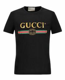 G # ** T-shirt da uomo New Summer Cotton Mens T-Shirt Moda manica corta Stampata Forniture Maschio Tops Tees Skate BrandSport Vestiti 2019 da