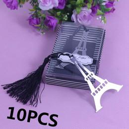 2019 regali all'ingrosso ragazze all'ingrosso Wholesale-10PCs Segnalibri all'ingrosso per la Torre Eiffel per bomboniere per bomboniere Bomboniere Souvenir e regali per gli ospiti sconti regali all'ingrosso ragazze all'ingrosso