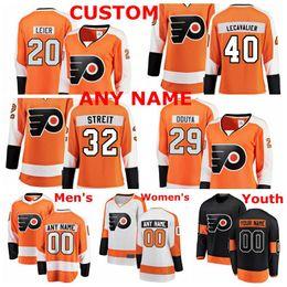 johnny oduya jersey Sconti Maglie Philadelphia Flyers Johnny Oduya Jersey Taylor Leier Vincent Lecavalier Mark Streit maglie di hockey su ghiaccio rosso bianco personalizzate cucite