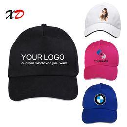 2019 angepasste hüte Benutzerdefinierte Baseball Cap 100% Baumwolle Print Logo Text Foto Stickerei lässig feste Hüte schwarz Farbe Kappe Snapback anpassen männlich weiblich günstig angepasste hüte