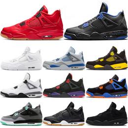 scarpe mid top kd Sconti Designer 4s uomini scarpe da basket per le donne uomini Cool Grey FIBA Bred Singles Volo Nostalgia Mens di GIORNO scarpa da tennis istruttori sportivi