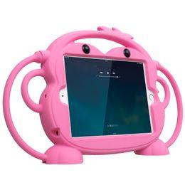 Caso tablet resistenza BPA free food grade silicone antiurto goccia per iPad 2 3 4 9.7''Kid Caso Tablet amichevole Carry stand da