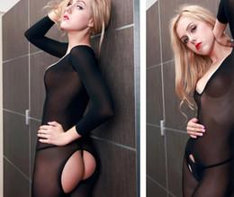 Argentina Body-Stocking Open Crotch sexy stockings Lencería sexy Open back stockings Club nocturno temptation tease los juegos previos Hacer el amor Juguetes sexuales Suministro
