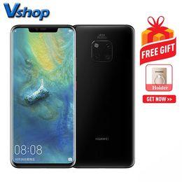 Wholesale Huawei Mate Pro GB GB Version Chine Appareils photo à dos triple Batterie mAh Identification du visage D pouces EMUI9 Android