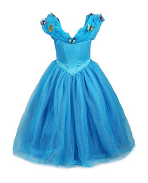 Anime cenicienta online-Cosplay Cenicienta vestido princesa disfraz niña reina fiesta vestir
