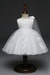 2019 bela flor menina vestidos para casamentos branco rosa rendas mangas curtas apliques crianças desgaste formal primeiro vestido de comunhão de