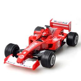 2019 f1 coches juguetes 2018 Popular 1:24 Aleación Pull-back F1 Coche Juguete Simulación Ecuación Vehículo Modelo Regalo de Navidad para niños jugando Kit rebajas f1 coches juguetes