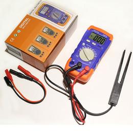 2019 medidor de circuito Medidor Capacitancia digital Medidor A6013L LCR probador Inductancia 200uF MF UF Medidor de circuito Capacitancia LCR probador ¡NUEVO! rebajas medidor de circuito