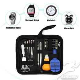 6ff27ba32 Mejor venta de relojes al por mayor herramienta de reparación Relojero  relojero Removedor Ajustador Caso abridor de reloj de pulsera conjunto de  ...