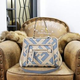 Echtes ledergeschäft online-Frauenentwurfstaschen einkaufstaschen aus echtem leder Luxus frauen berühmte geldbörse Schulter Kuriertaschen kostenloser versand